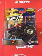 Superman DC Heroes 1/2 2017 Hot Wheels Monster Jam Case H