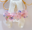miniatuur 18 - Baby Girls Kids Lace Tutu Flower Bows Elsa Party Costume Tights Newborn Toddler