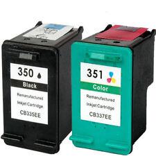 Non-OEM Replaces 350 351 For HP Deskjet D4260 D4263 D4360 Ink Cartridges