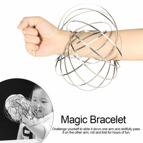 Flow Arm Rings-Kinetic Toys 3D Magic Bracelet Ring Dynamic Motion Science Toy