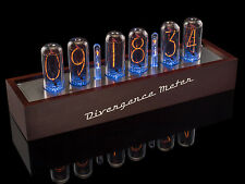 IN-18 NIXIE tubes Clock, Musical, USB, RGB, Arduino comp., Divergence Meter