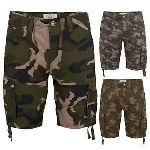 Pantalon-corto-para-hombre-de-carga-de-combate-ejercito-Semental-Informal-Trabajo-De-Algodon