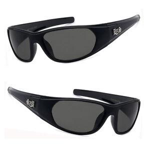94e4d058593 Locs Mens Cholo Biker Gangsta Wrap OG Sunglasses UV Protect Matte ...