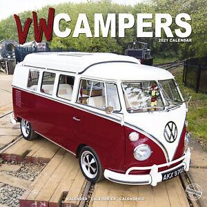 VW Campers 2021 Micro Bus Calendar 15% OFF MULTI ORDERS | eBay