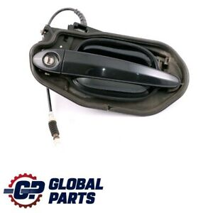BMW-5-Series-E60-E61-Complete-Front-Right-Grab-Handle-O-S-Carbonschwarz-Black