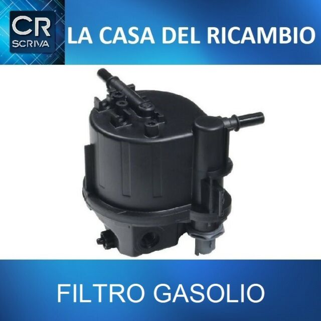 FILTRO GASOLIO CARBURANTE  PEUGEOT 206 207 1.4 HDi 50KW 68CV DAL 2001-2012