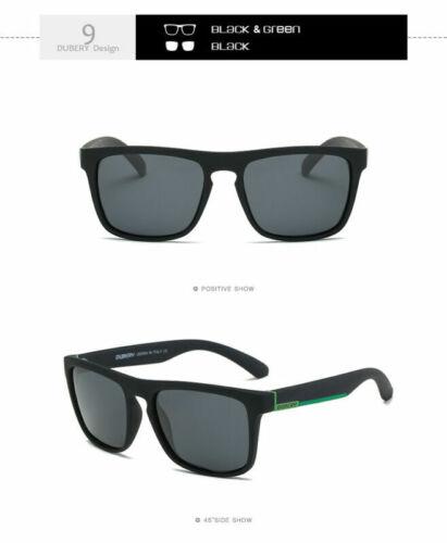 DUBERY Men Women Vintage Polarized Sunglasses Driving Eyewear Shades Fishing Hot