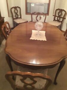 Image Is Loading French Provincial Furniture Dining Room Set Circa 1960
