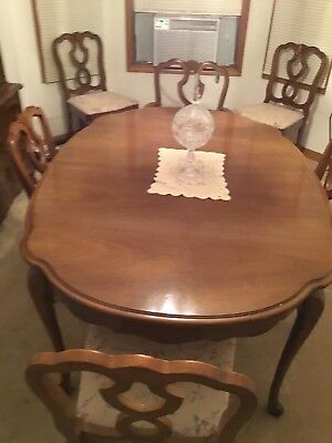 French Provincial Furniture Dining Room Set Circa 1960 Ebay