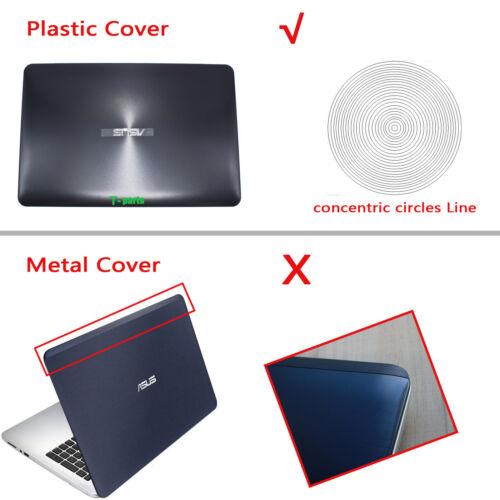 New for ASUS A555 X555 K555 F555 W519L F554 R557 Lcd Back Cover Top Case Plastic