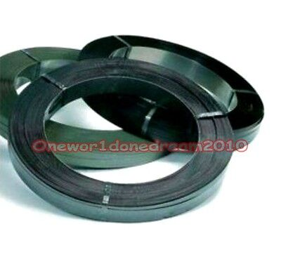 1pcs 65Mn High Carbon Hardened Spring Steel Plate Strip 0.03mm x 12.7mm x 1000mm