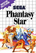 A4 Sega Master System Game Poster – Phantasy Star (Picture Print Gaming Art)