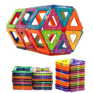 50pcs Magnetic Building Blocks Construction Children Kids Toys