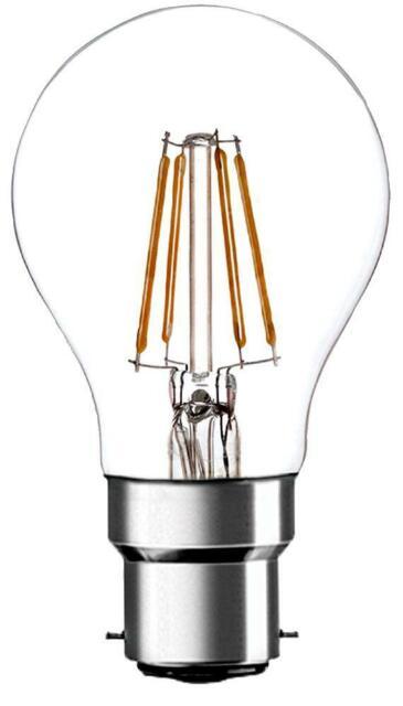 Pro Elec - PEL00217 - 4w B22 Led Filament Light Bulb, 4000k