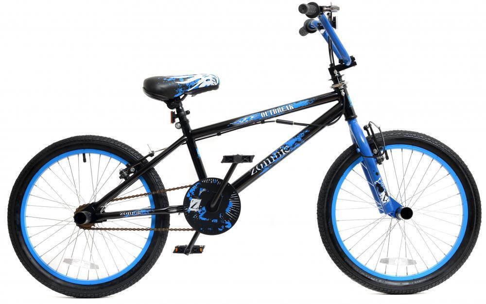 Zombie Outbreak Chicos Niños Freestyle Freestyle Freestyle BMX Bicicleta 20
