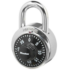 Master Lock 1500d Preset Combination Padlock 1 78 In Wide Black Dial