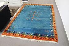 Handgeknüpfter Orient Teppich Gabbeh Carpet Tappeto Rug  254x173cm