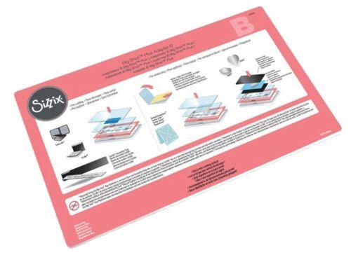 "Sizzix Big Shot Plus MacHine Starter Kit 660341 Retail $249.99 utilise 8 1//2/"" Large"