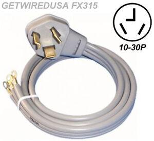 univerasal dryer electric cord male 10 30p 3 prong plug. Black Bedroom Furniture Sets. Home Design Ideas