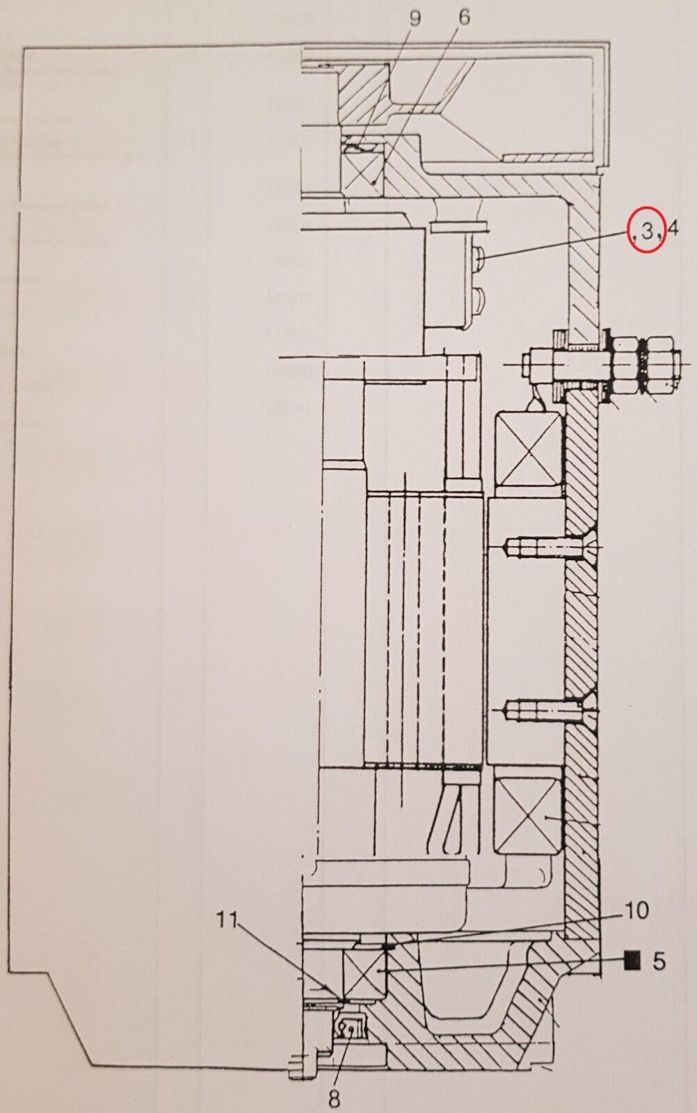 Balai en Charbon pour No. BT Rt 1350/1600/1800/2000 No. pour 133973 b59b3c