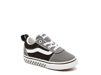 Vans Ward V Slip On Black And Grey