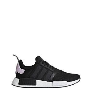 adidas NMD R1 Shoes Women BlackWhite Pink B37649