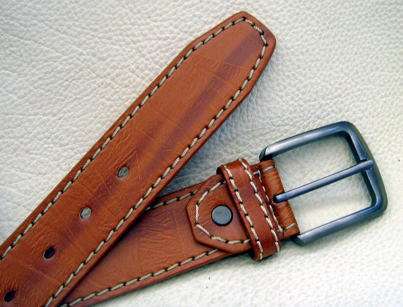 Gürtel Jeanshosen-Gürtel Unisex Damen Herren Farbe braun verschieden Größen Neu