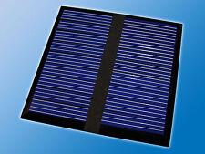 Solarzelle | 9V 40mA 0,36W | 60x60mm | Polykristallin | Vergossen | Solarmodul