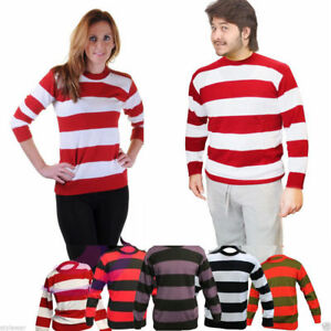 New Kids Freddy Krueger Style Red Green Striped Halloween Boys
