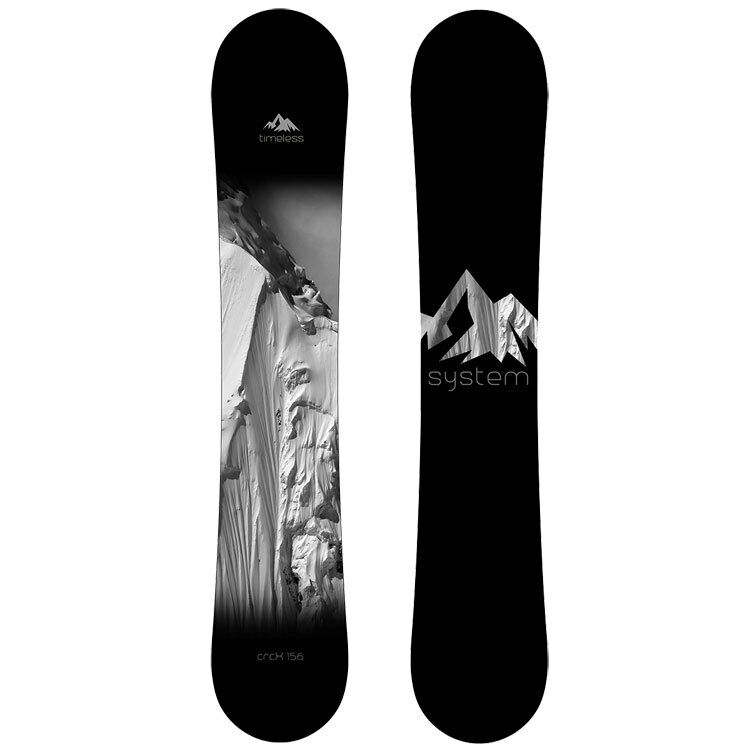 New System Timeless CRCX  Snowboard