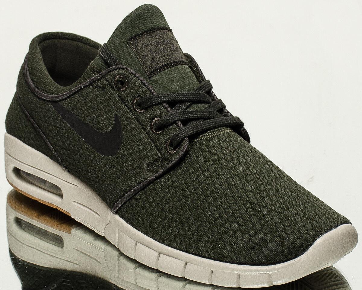Nike zapatillas SB Stefan Janoski Max Hombres Estilo de vida zapatillas Nike nuevas Sequoia Negro 6320183302 ada493