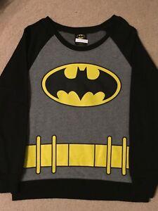 DC Comics Batman Batgirl Costume Junior Women Girl Tank Top Dress Shirt M MEDIUM