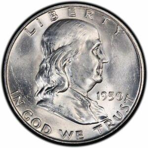1950-Franklin-Half-Dollar-Brilliant-Uncirculated-BU