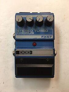 DOD-Digitech-FX67-Stereo-Turbo-Dual-Analog-Chorus-Rare-Vintage-Guitar-Pedal