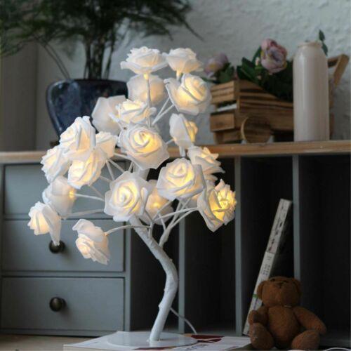 Home Wall Lamps Decor Bedroom Luminous Led Light Bulb Flower Elegant Design Lamp