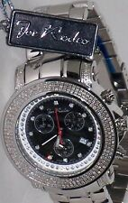 New Authentic Mens JOJO Joe Rodeo Junior #JJU6 2.50 CT.aprx.Diamonds Watch