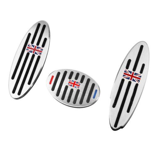 No Drill Gas Brake Pedals Cover Non Slip Sport Foot Pedals Pad For Mini cooper.