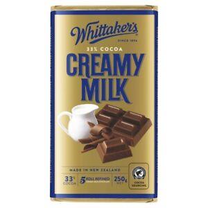 Whittaker's Creamy Milk Chocolate 250g