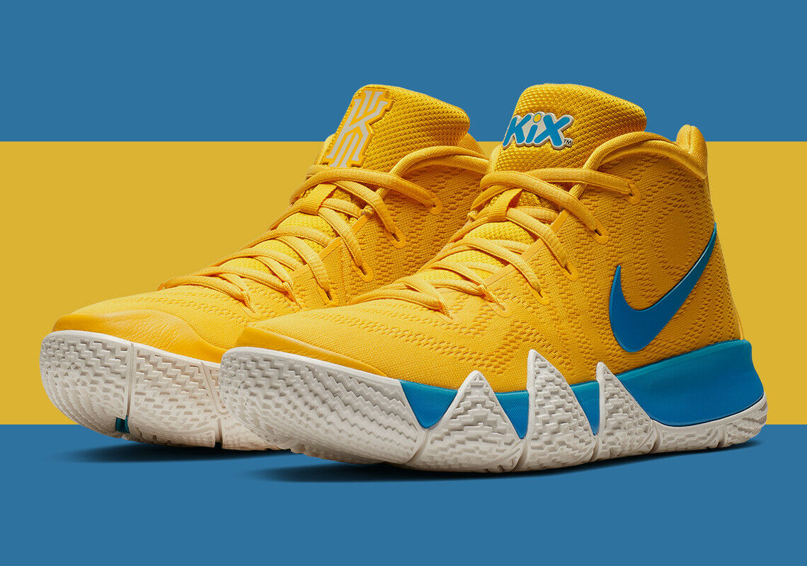 5f531f2d08da Mens Nike Kyrie 4 Kix Cereal Amarillo Limited Basketball Bv0425 700 Shoes  14 for sale online
