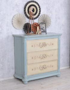 Shabby Chic Kommode Marie Antoinette Rokoko Antik Stil Ebay