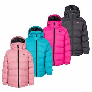 Trespass-Amira-Girls-Waterproof-Padded-Jacket-Casual-Coat-With-Hood