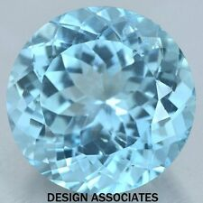 3.5 MM ROUND CUT BLUE ZIRCON ALL NATURAL AAA