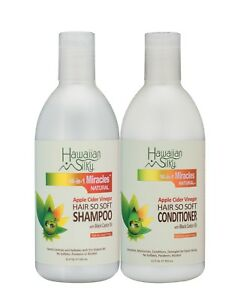 Hawaiian-Silky-Apple-Cider-Vinegar-Hair-So-Soft-Shampoo-amp-Conditioner-12-oz