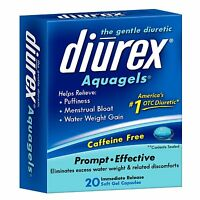 Diurex The Gentle Diuretic Aquagels, 20 Ea (pack Of 2) on sale