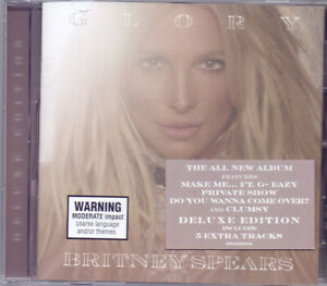 Britney-Spears-Glory-2016-CD-Deluxe-Edition-NEW-SEALED-SPEEDYPOST