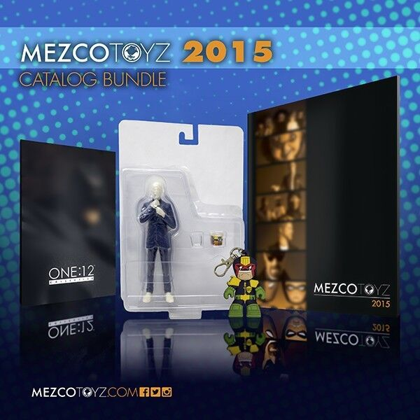 Exclusive Toy Fair Gus Fring Limited Edition Preview Bundle By Mezco