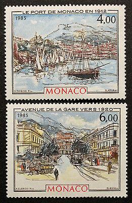 Briefmarke Monaco Briefmarke SchöN Und Charmant Yvert Et Tellier N°1492 Et 1493 N cyn21