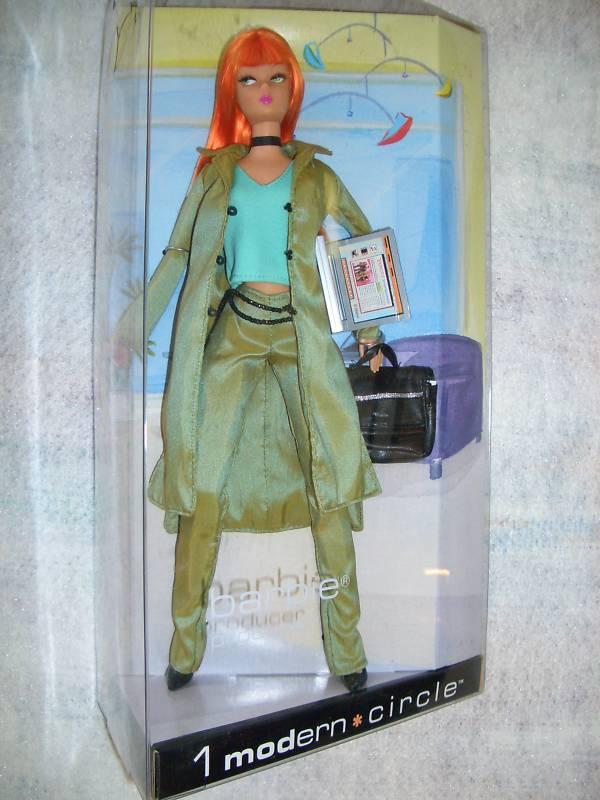 Moderno círculo Barbie productor  Nuevo  en los tejidos