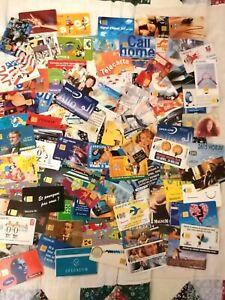 105 Télécartes différentes + 25 doubles