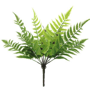 HD-1Pc-Artificial-Fern-Plant-Greenery-Garden-Party-Home-Wedding-Stage-Decor-Del
